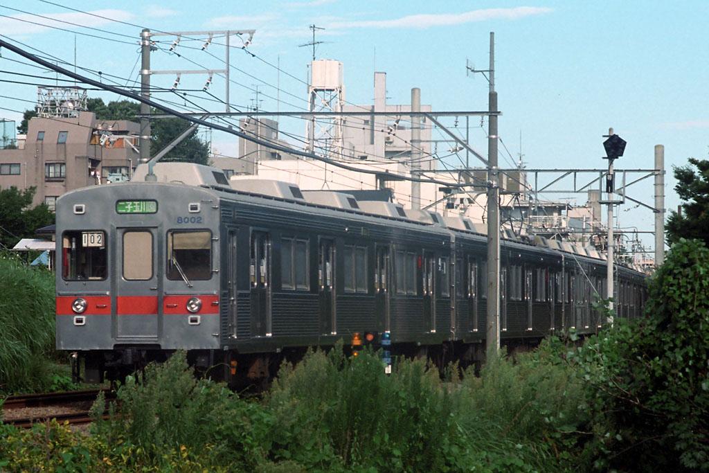 1999年8月21日 等々力駅―上野毛駅間の写真