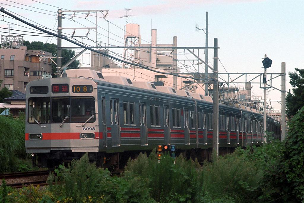 1999年8月21日 等々力―上野毛の写真