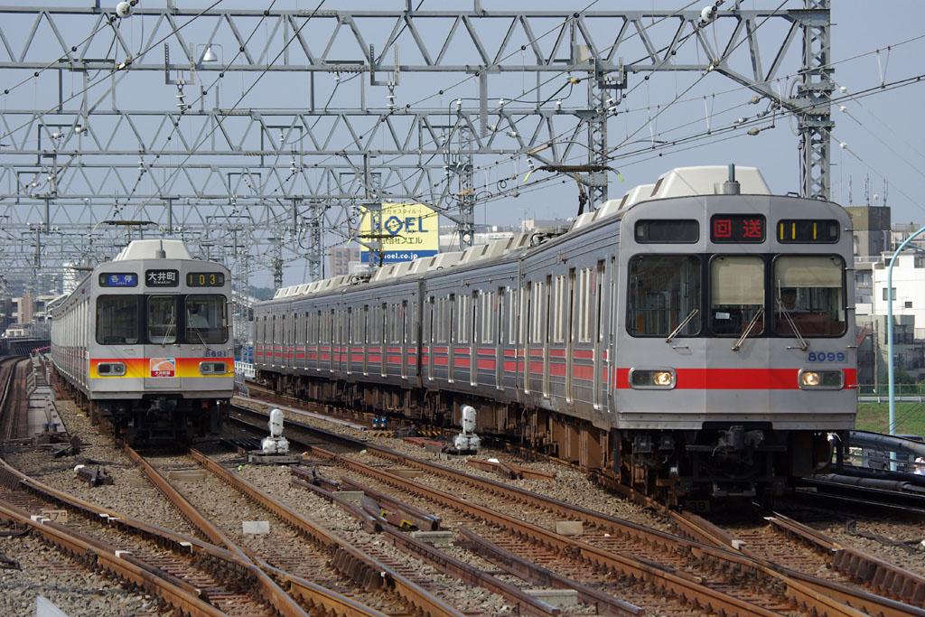 2007年8月 東急8590系の写真