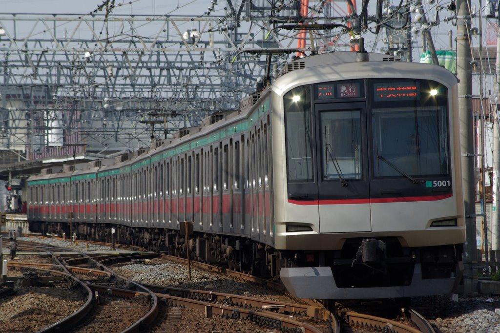東急5000系(2代)5101F | 2007年11月3 ...