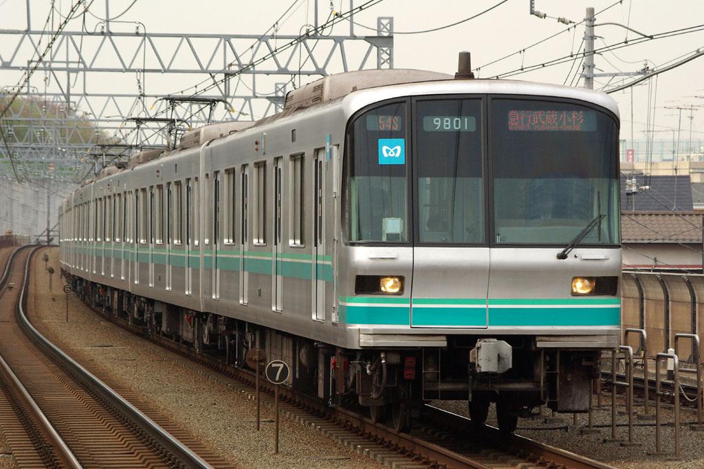 東京地下鉄9000系9101F | 2008年4月12日 多摩川 スポン... 東京地下鉄900